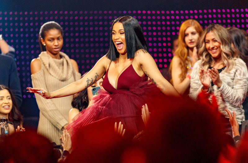 Cardi B Snags 10 Nominations For The 2018 MTV Video Music Awards, Full List