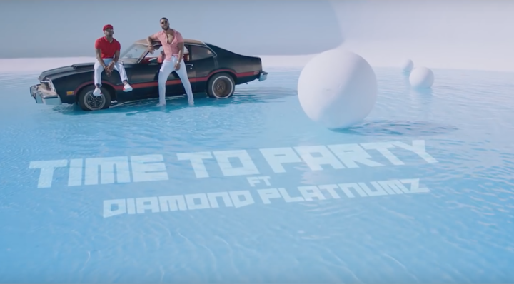 VIDEO: Flavour – Time To Party ft. Diamond Platnumz