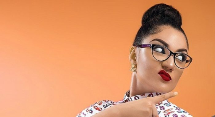BBNaija's Gify Shares Message To Her Haters Wearing Nothing But A Bra