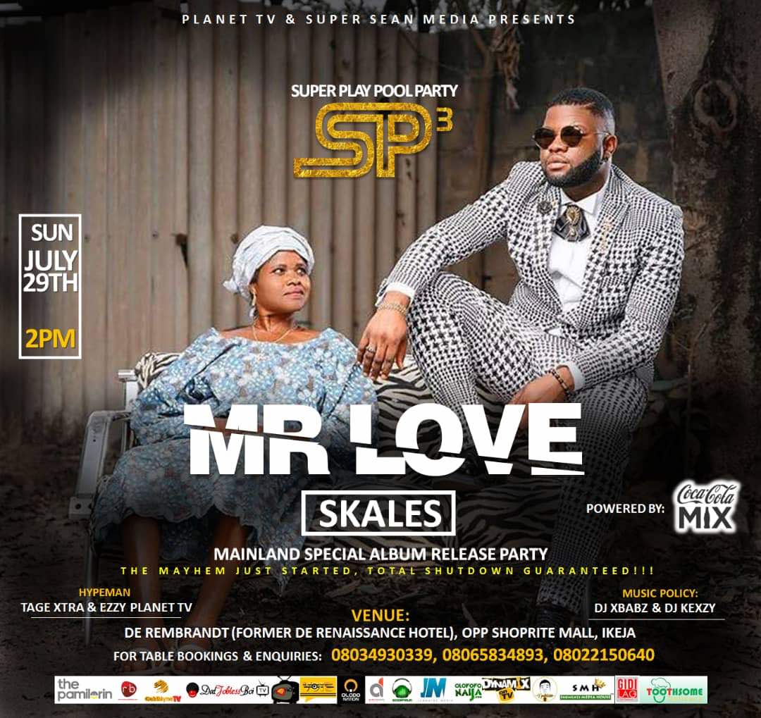Event: Skales #MrLove Album release party hits #SuperplayPoolParty (Season 2)