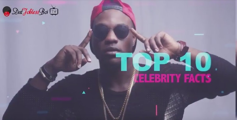 "VIDEO: ""TOP 10 CELEBRITY FACTS ON DJBTV"" with L.A.X 