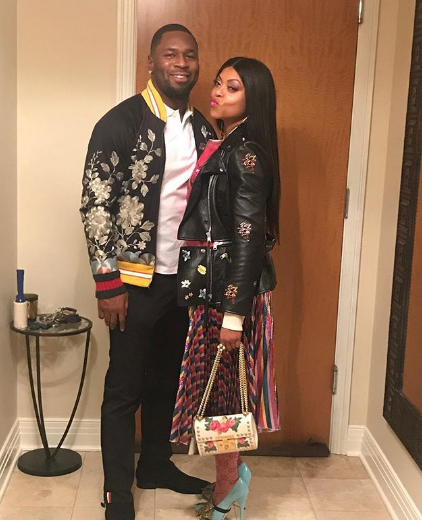Taraji P. Henson And Fiancee Kelvin Hayden Spark Marriage Rumour With This Photo