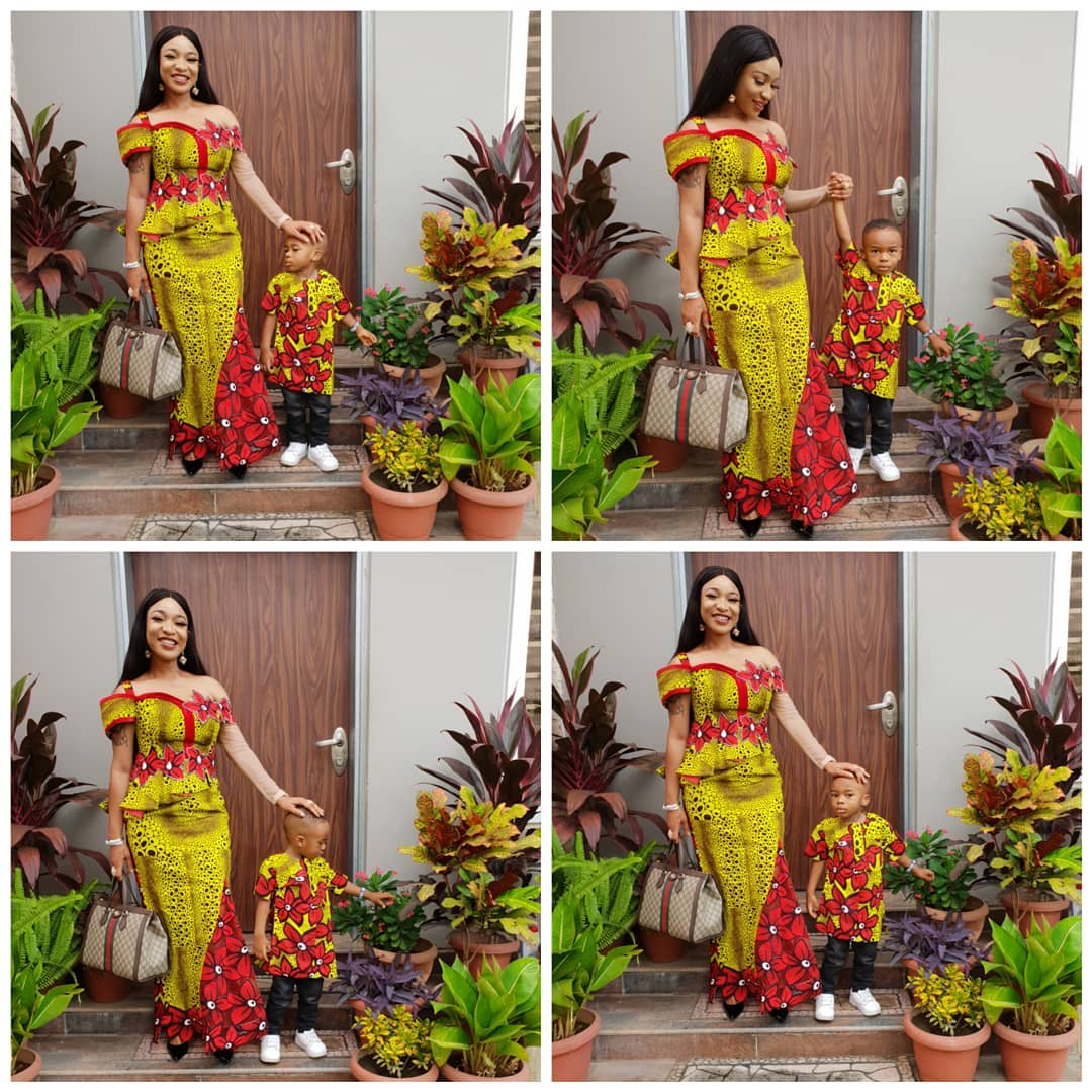Tonto Dikeh Warns About Protecting Your Children This Holiday Period