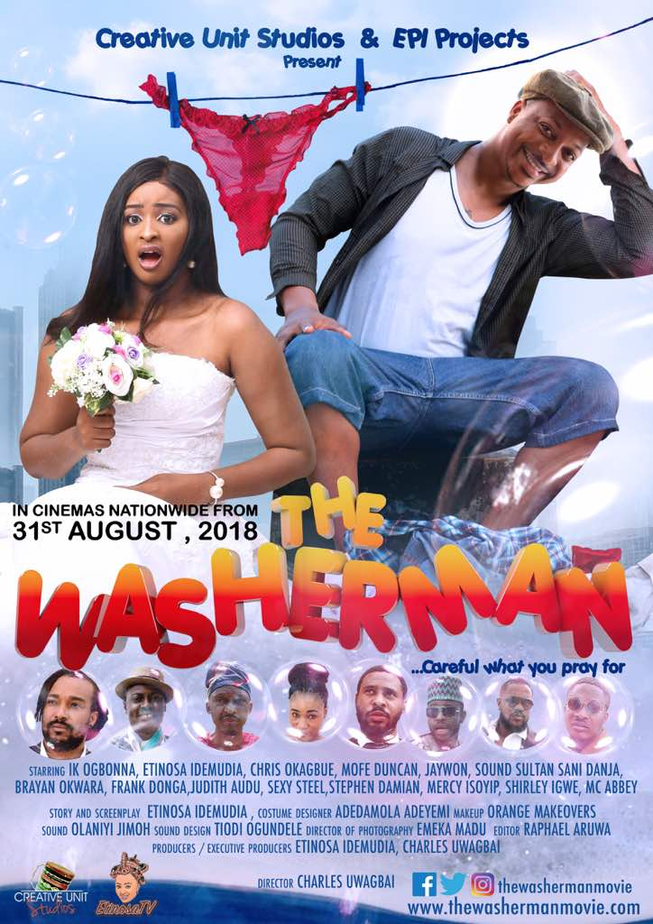 IK Ogbonna, Etinosa Idemudia , Frank Donga, Judith Audu, Soundsultan, Sexy Steel & more Stars The Washerman Movie