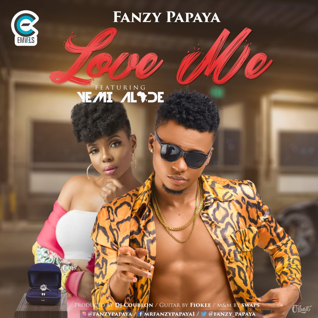 VIDEO: Fanzy Papaya – Love Me Ft. Yemi Alade