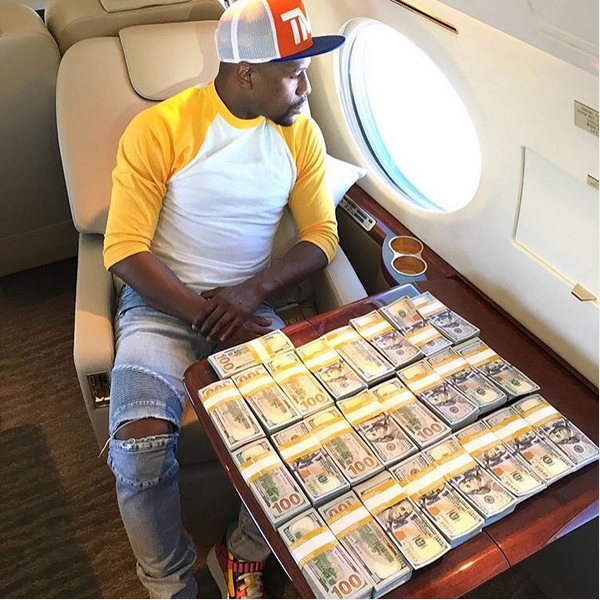 Floyd Mayweather Tops Forbes' List Of Highest-paid Celebrities, See Full List