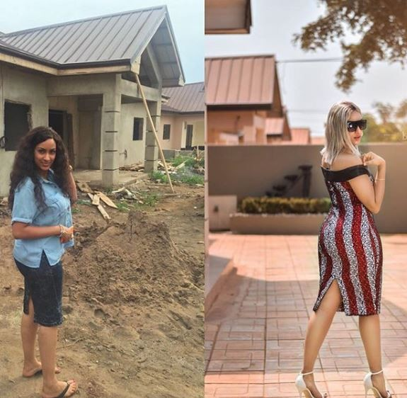 Juliet Ibrahim Completes Her New House In Ghana, Shares Her Inspiring Grass To Grace Story