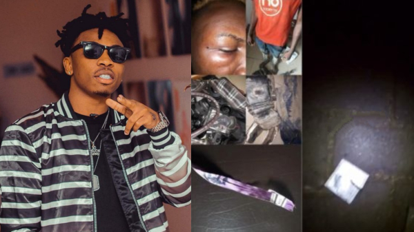 Mayorkun Talks Reason Why There Were Condoms At His Concert