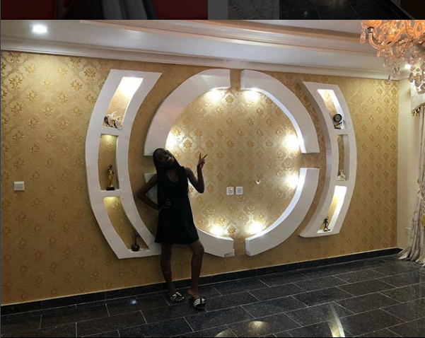 See Photos: Mercy Aigbe Shows Off The Lavish Interior Of Her New Home