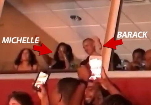Video: Barack Obama And Wife, Michelle Groove At Beyonce And Jay Z's Concert