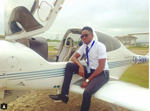 It's Another Win For BB Naija's Miracle As He Gets His Private Pilot License