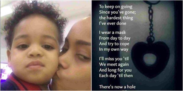 D'banj Son's Death: Wife's Sister, Sammy Walsh, Pens Emotional Note On Instagram