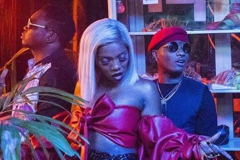 Wizkid celebrates Tiwa Savage for winning the 'Best African Act' at the 2018 MTV Europe Music Awards