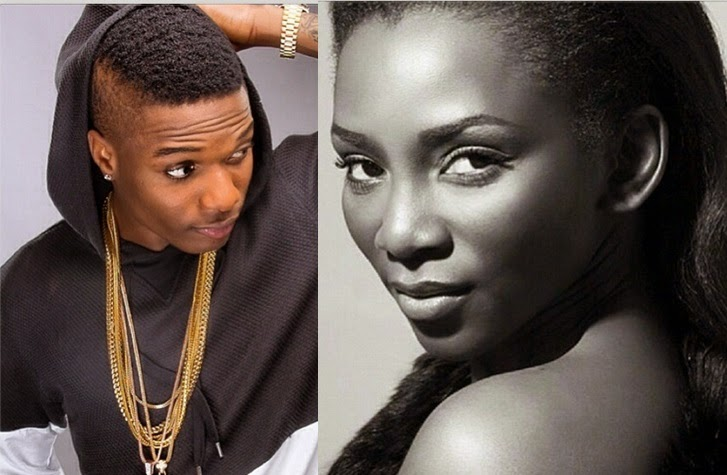 Genevieve Nnaji's Fans Slam Wizkid For Doing This On Her Photo