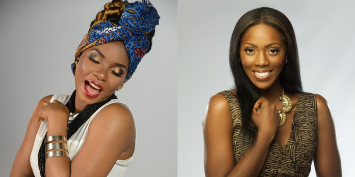 New Rivalry Alert??? Yemi Alade & Tiwa Savage Unfollows Each Other!!!