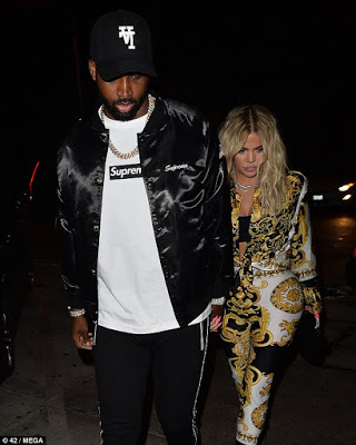Khloe Kardashian Enjoys Night Off Mummy Duty With Beau Tristan Thompson