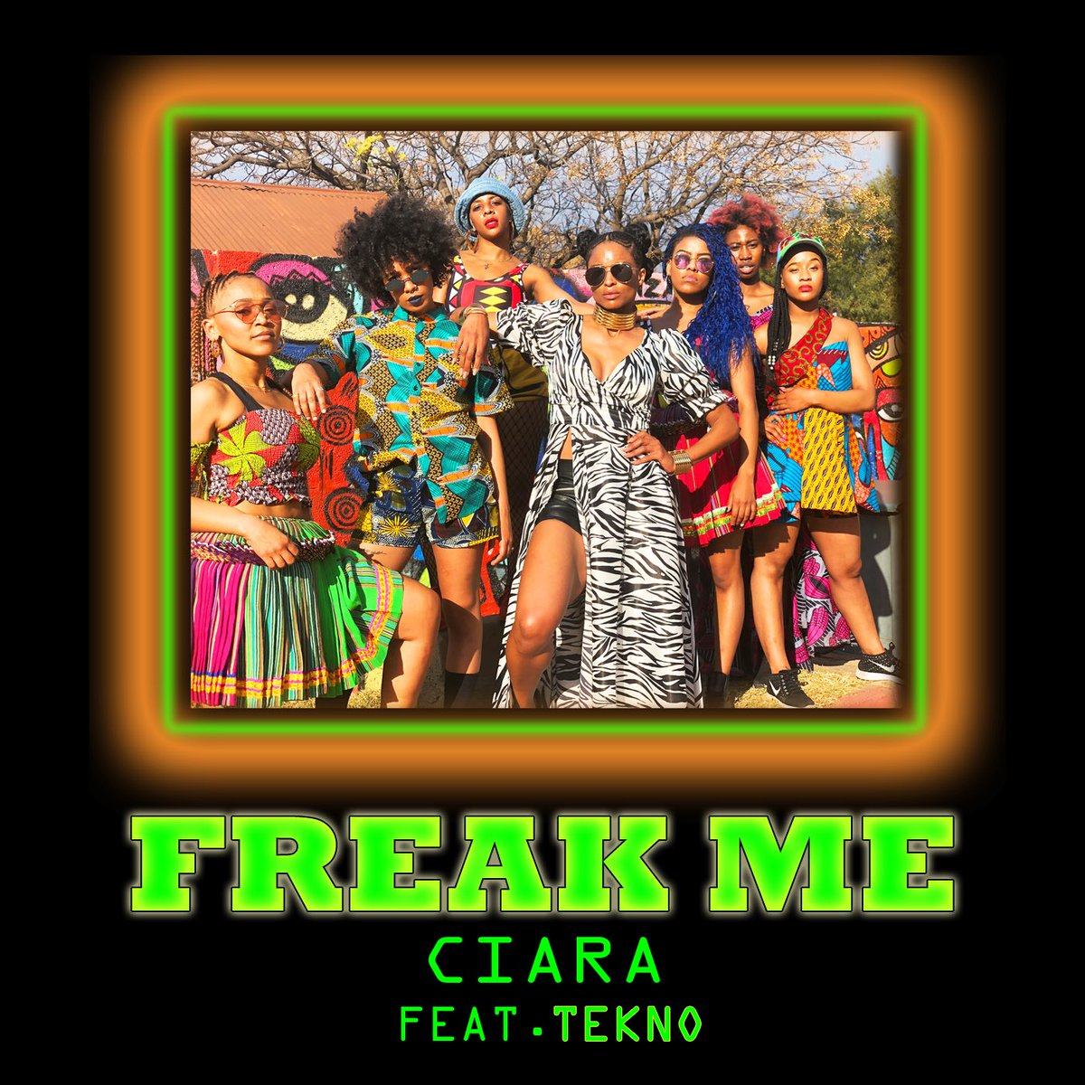 American Pop Star Ciara Features Tekno On 'Freak Me'