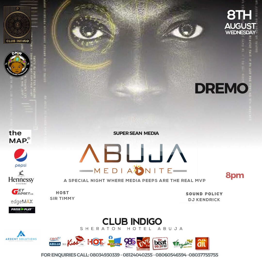 "DMW Signee ""Dremo"" set to headline Abuja Media Nite"