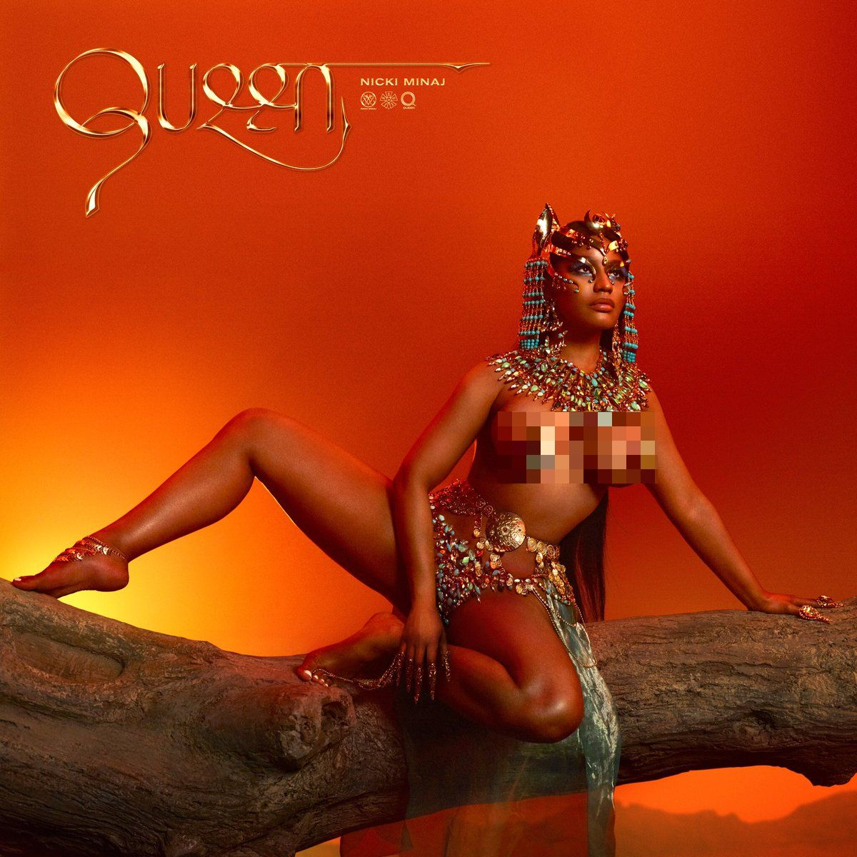 "Nicki Minaj Drops 4th Studio Album ""Queen,"" Disses Drake, Meek Mill, DJ Khaled"