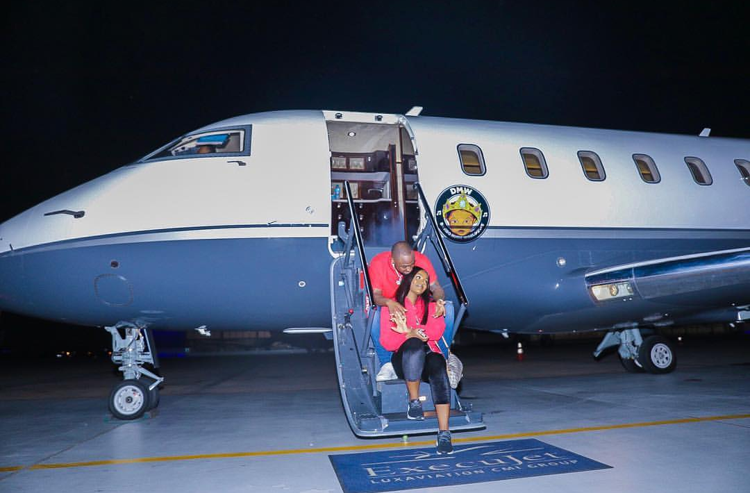 Air OBO Alert: Davido Shares First Photo Of His Private Jet
