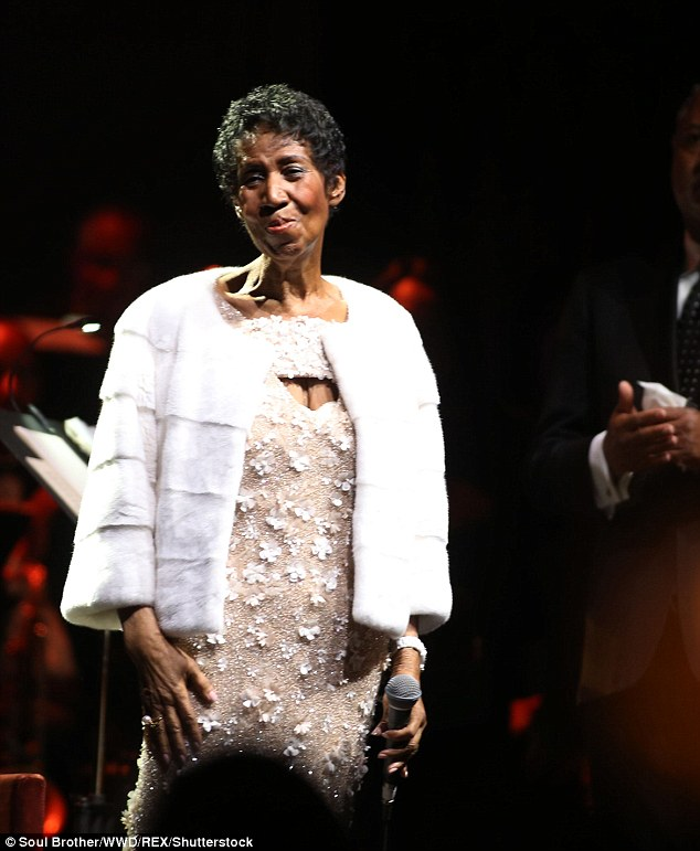 Music Legend, Aretha Franklin Gravely Ill At 76
