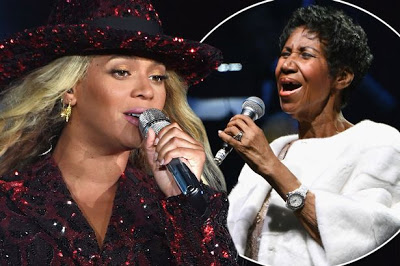 Beyonce Dedicates Concert To Ailing Aretha Franklin