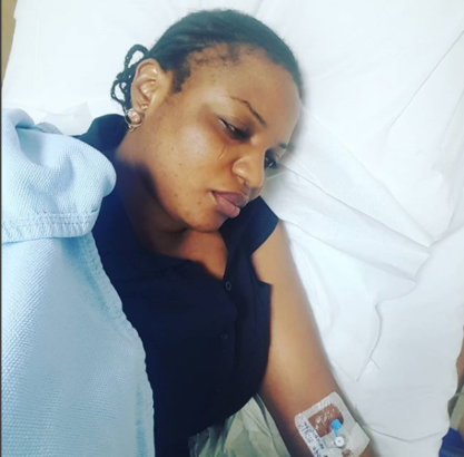 Funke Adesiyan Hospitalised After Fulani Herdsmen Attacked Her Farm