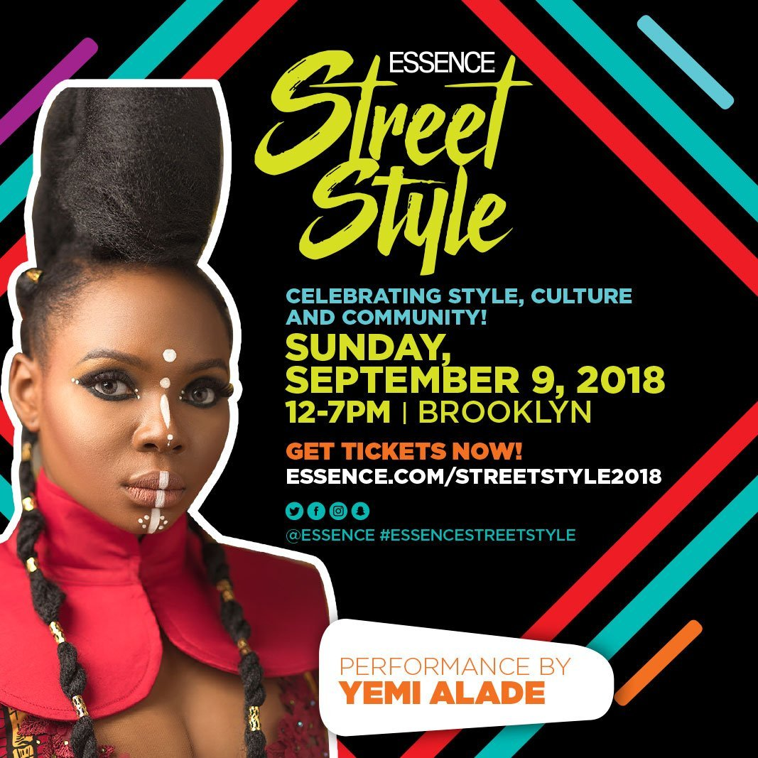 "Mama Africa ""Yemi Alade"" To Perform At The Essence Street Style In New York"