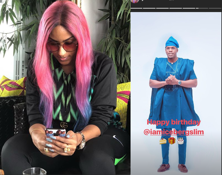 Juliet Ibrahim Celebrates Ex, Iceberg Slim As He Turns A Year Older