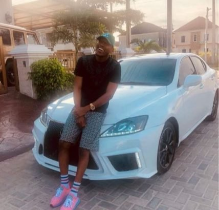 Mr 2kay Shows Off His Brand New 2015 Lexus 250