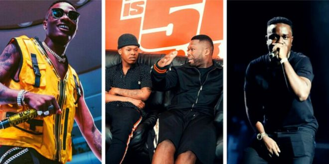 Wizkid Ignores Sarkodie, Says South African Nasty C Is The Best African Rapper