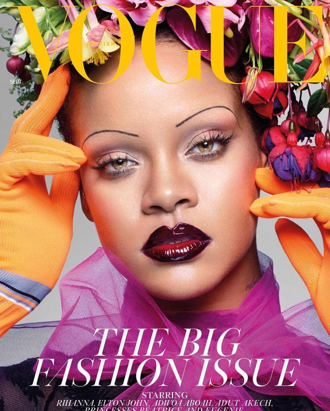 Rihanna Makes History As She Covers The Latest Issue Of British Vogue