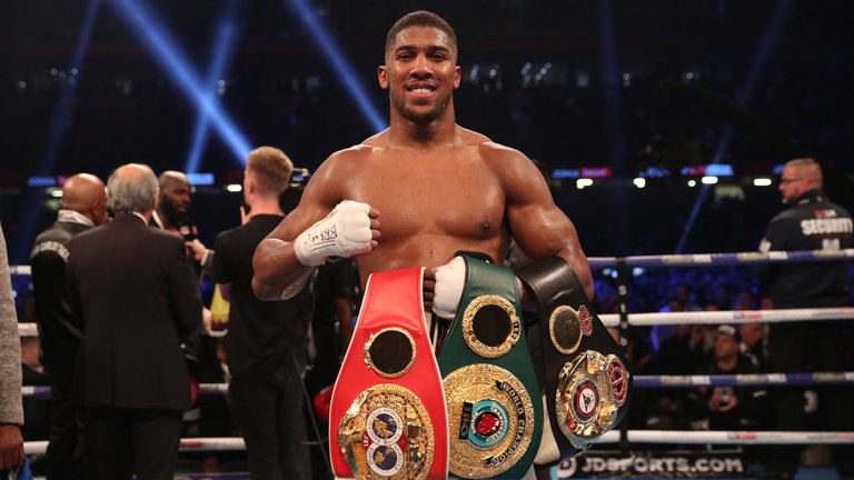 Anthony Joshua Reveals How He Keeps Fit Ahead Of His Fights