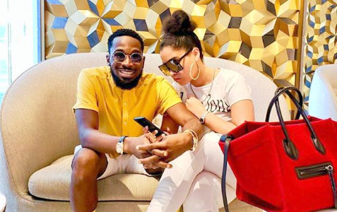First Photo Of D'Banj & Wife Surface After Child's Death