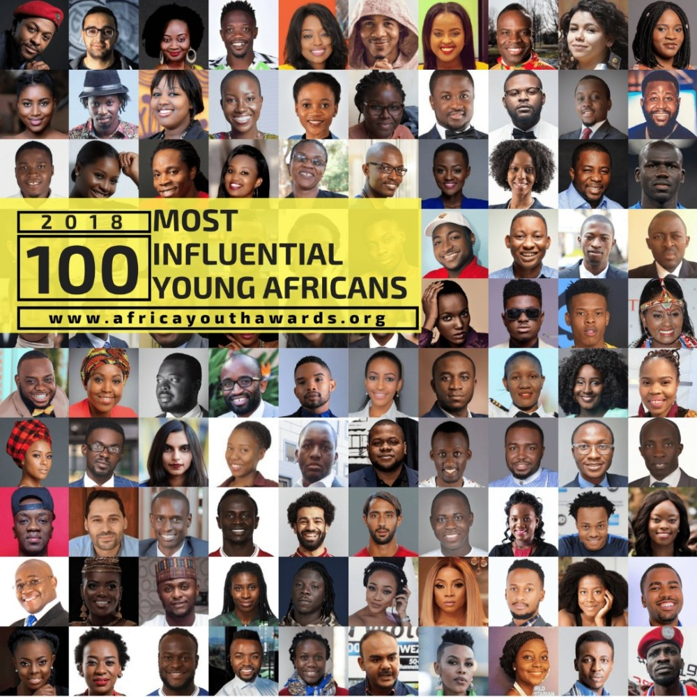 [FULL LIST] See Those Who Made 2018's List Of 100 Most Influential Young Africans