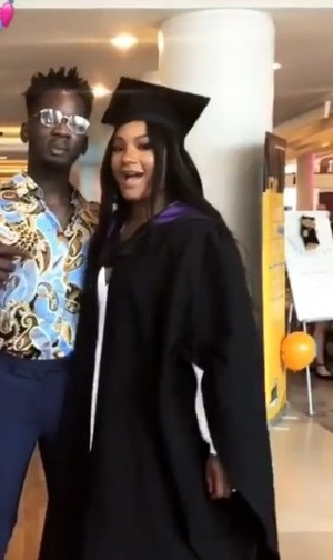 Temi Otedola Graduates From London University