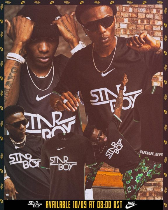 Wizkid Reveals Plans To Build Schools Across Africa With Proceeds From Nike Deal