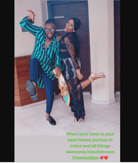 BBNaija's BamBam Confirms Relationship With Teddy A In This Sweet Way