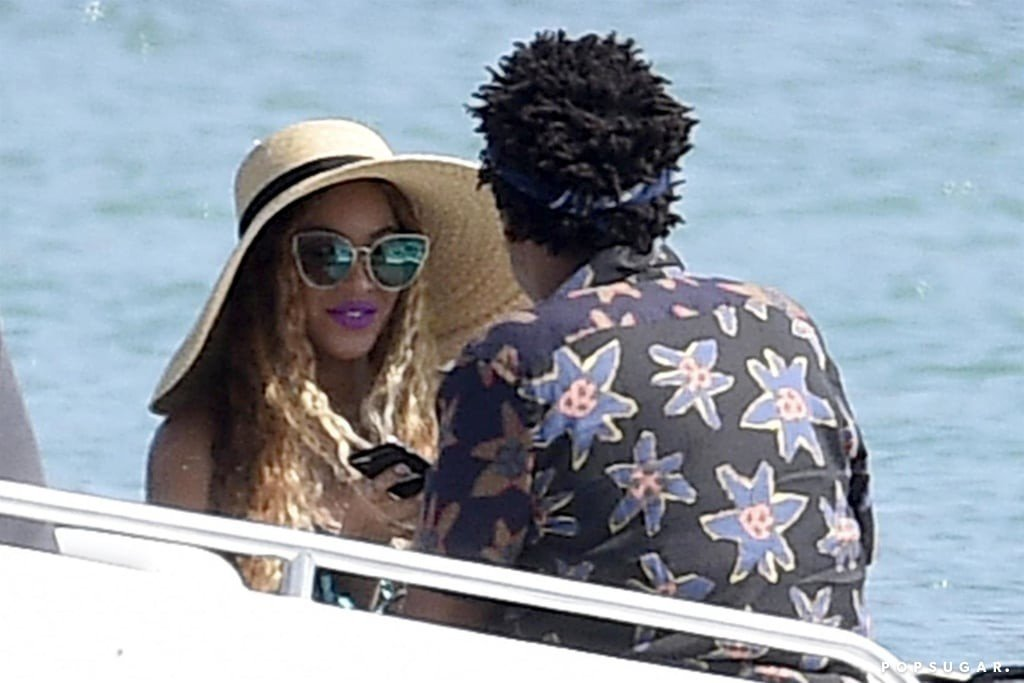 [PHOTOS] Beyonce, Jay Z In Sardinia For Her 37th Birthday