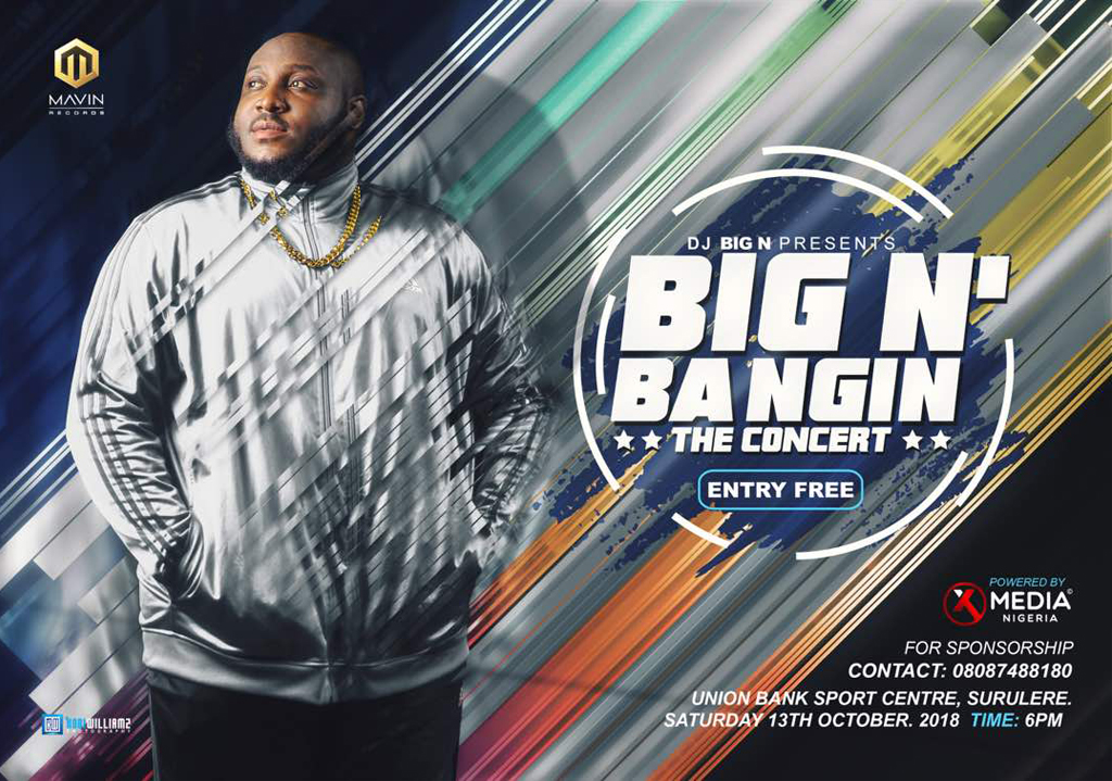 DJ Big N Presents: Big N'Bangin The Concert