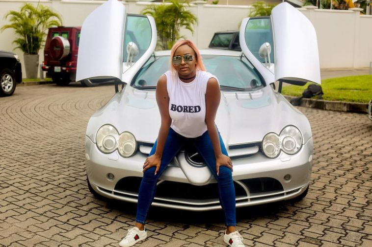 DJ Cuppy Flaunts Her Mercedes-Benz Worth 25 Million Naira