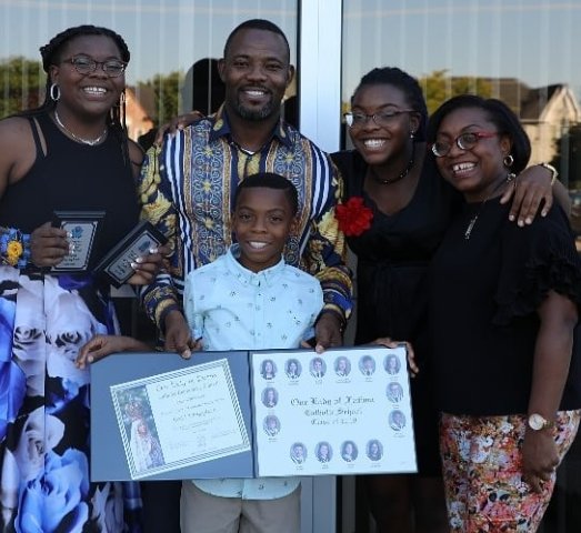 Couple Goals! Okey Bakassi And Wife Celebrate 17th Wedding Anniversary