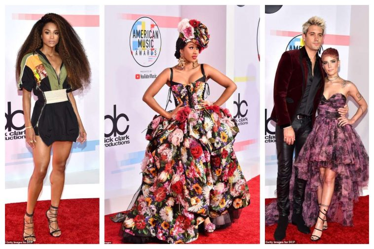 The Best Dressed Celebrities At The 2018 AMAs