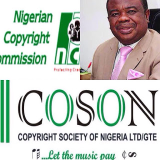 Nigerian Copyright Commission, NCC Charges Tony Okoronji, COSON To Court For Operating Without Approval.