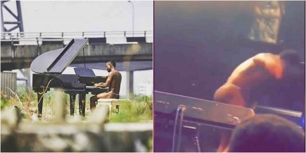 Brymo Explains Why He Went Nude To Perform In London