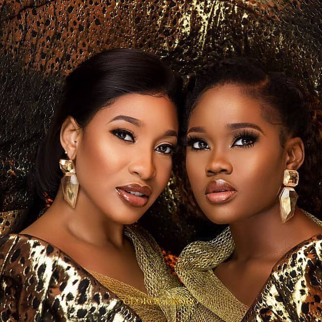 Cee-C And Tonto Dikeh Look Radiant In New Photoshoot
