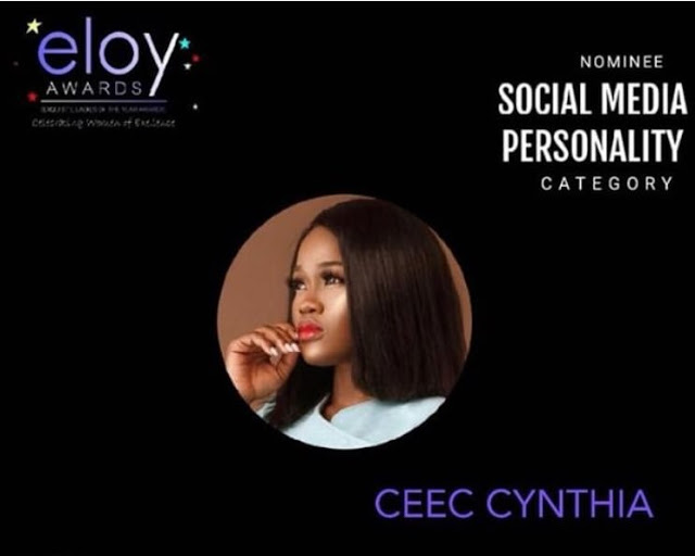 Cee-C has been nominated for the ELOY Awards
