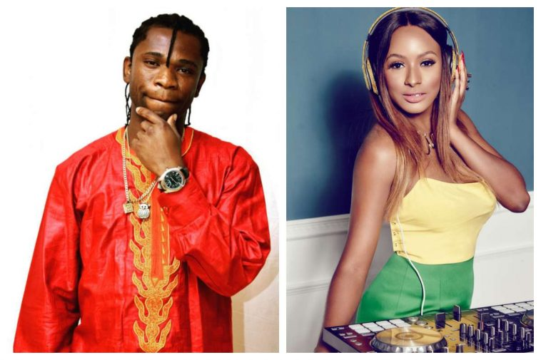 DJ Cuppy Replies Speed Darlington After He Said He Wants Her Money Not Sex