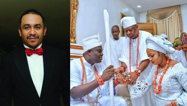 Daddy Gives Gives Opinion On Ooni of Ife's Marriage To Prophetess Naomi