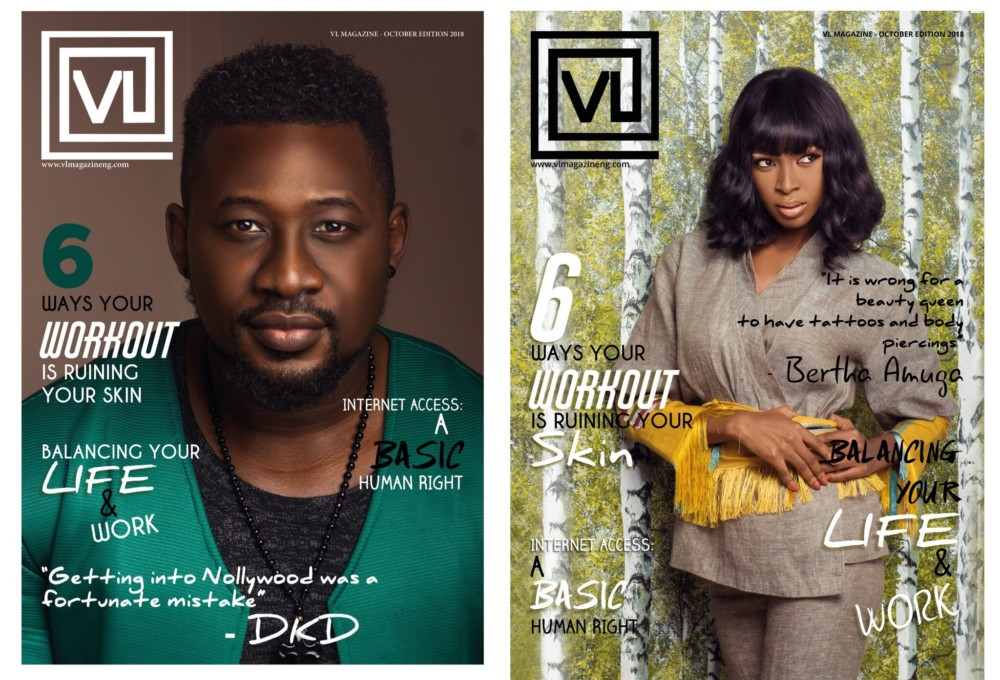 October 2018 Edition ,VL Magazine's covered by Daniel K Daniel And Bertha Amuga